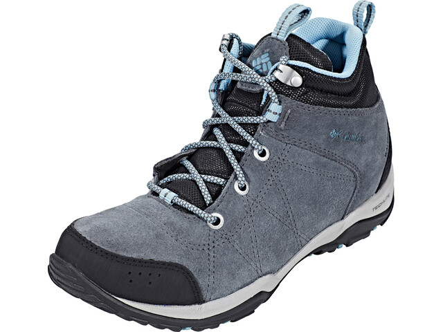 1e997cb7933 Columbia Fire Venture Mid Waterproof Shoes Women graphite/storm